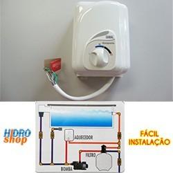 Aquecedor Piscina Cardal 4000w 220v Compacto - AQ251/2