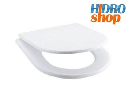 Assento Plastico Deca Linhas Link Duna Carrara Nuova Branco Gelo - AP6017