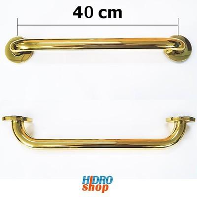 Barra De Apoio Dourado Gold Inox 40cm 1.1/4