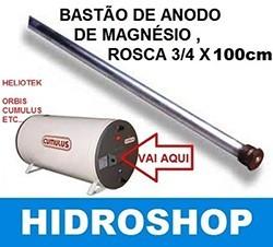 Bastão De Anodo De Magnésio Rosca 3/4x100cm – 070002