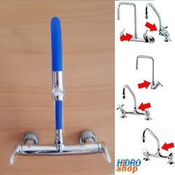 Bica Articulável Torneira Cozinha Azul Encaixe Deca - B4555