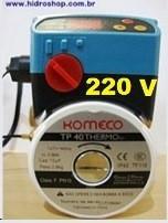 Bomba Recirculação Com Termostato Acoplado Komeco Tp40 220v G3 Bronze - TP40220THBZ