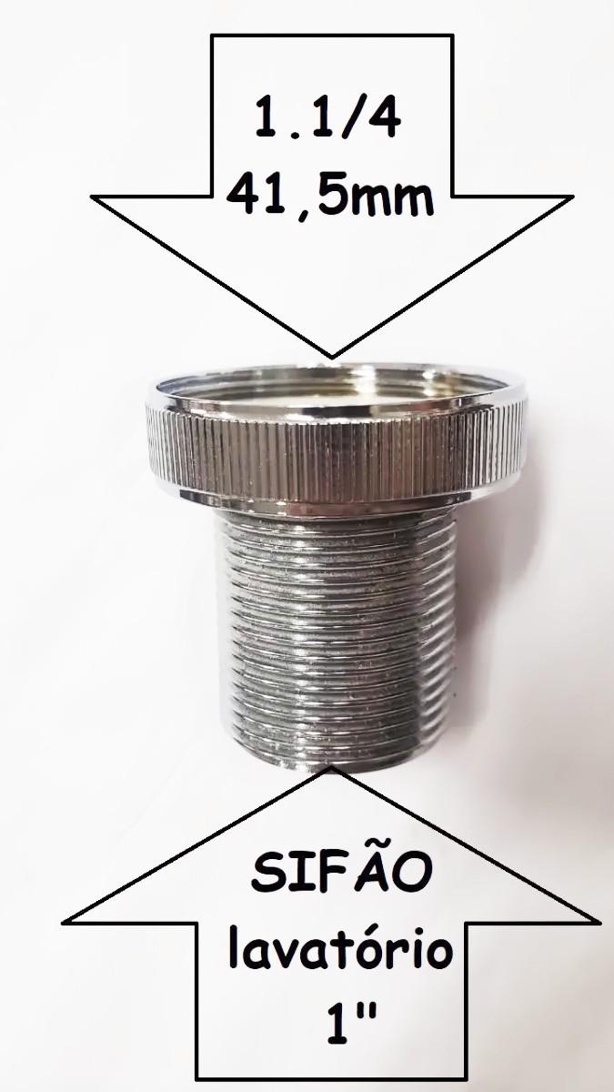 Bucha Redução para Válvulas Importadas 1.1/4 x 7/8 - 170407