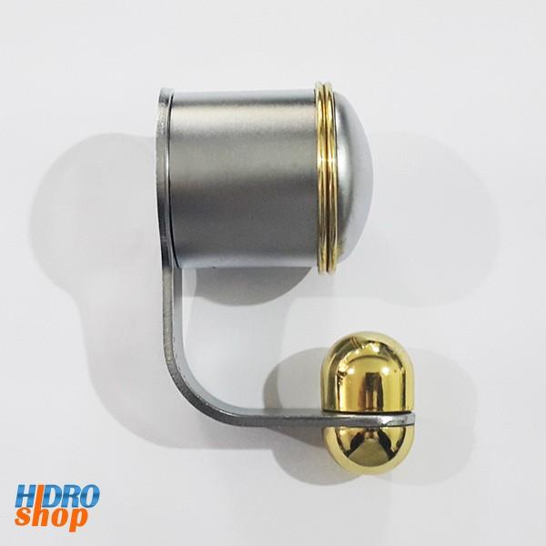 Cabide Deca Dumo Plus Acetinado Com Dourado - 2060C74TDO