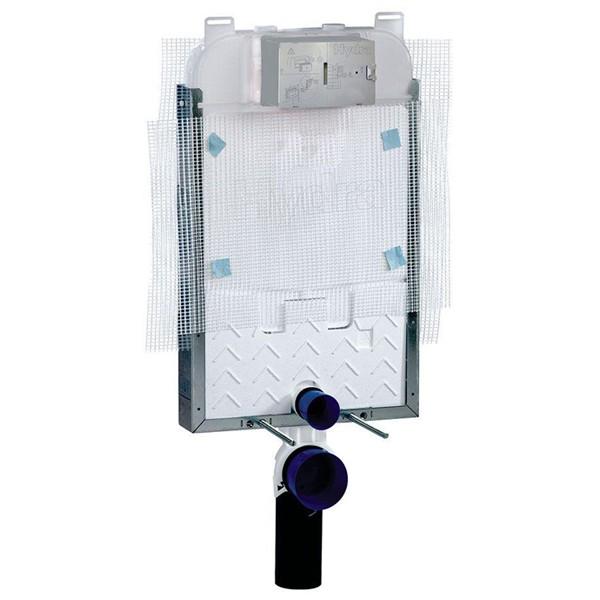 Caixa Embutir Deca Pneumática Hydra Alvenaria E Bacia Suspensa - 2501CXPNAF