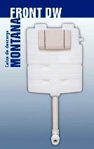 CAIXA MONTANA M9000DW DRY WALL CANOPLA BRANCA