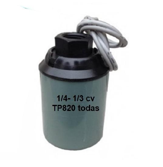 Chave Pressão Pressostato Para Pressurizadores Komeco, Equibras, Sakura, Inova, Kikawa – 0100021470
