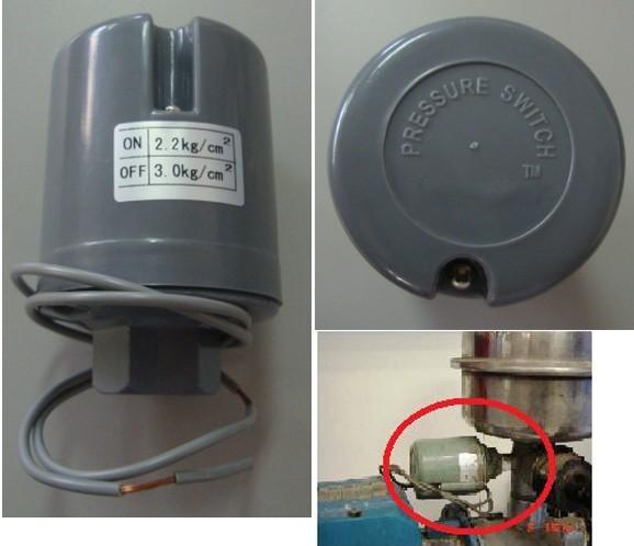 Chave Pressão Pressostato Pressurizador Sakura 2,2 x 3,0 - 10306699