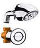 Chuveiro Anti Furto Anti Roubo Automático Parede Fabrimar - 1553AVBIO