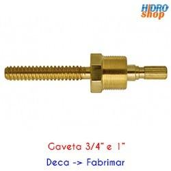CONVERSOR ACABAMENTO REGISTRO GAVETA DECA P/ FABRIMAR 3/4 E 1'' - REF. 130113