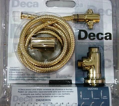 Desviador Deca para Chuveiro Dourado - 1982D