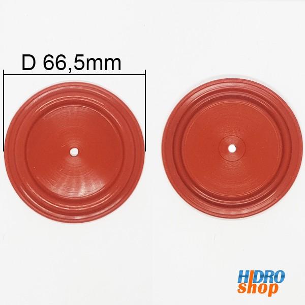 Diafragma Membrana Aquecedor Cumulus 16lt ANTIGO D66,5 mm - VDS665SR