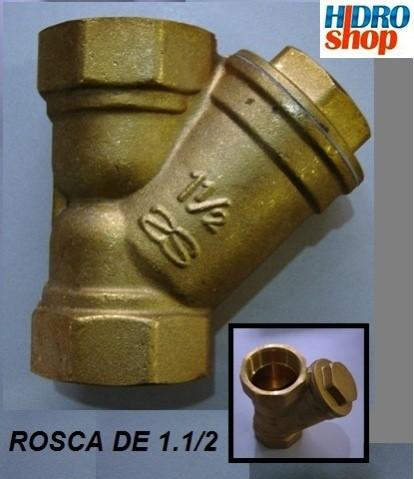 Filtro Y Rosca 1.1/2 Tela Inox - 017008