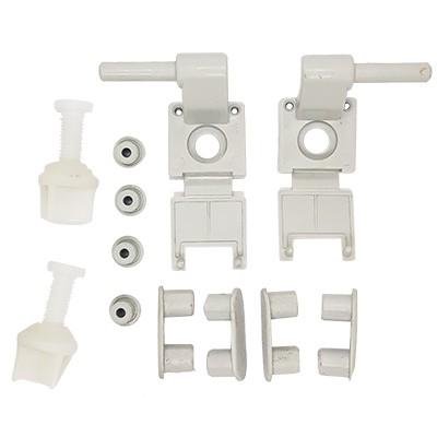Fixação para assentos sanitários deca em plastico cinza real  Ref.: 1100fx0187
