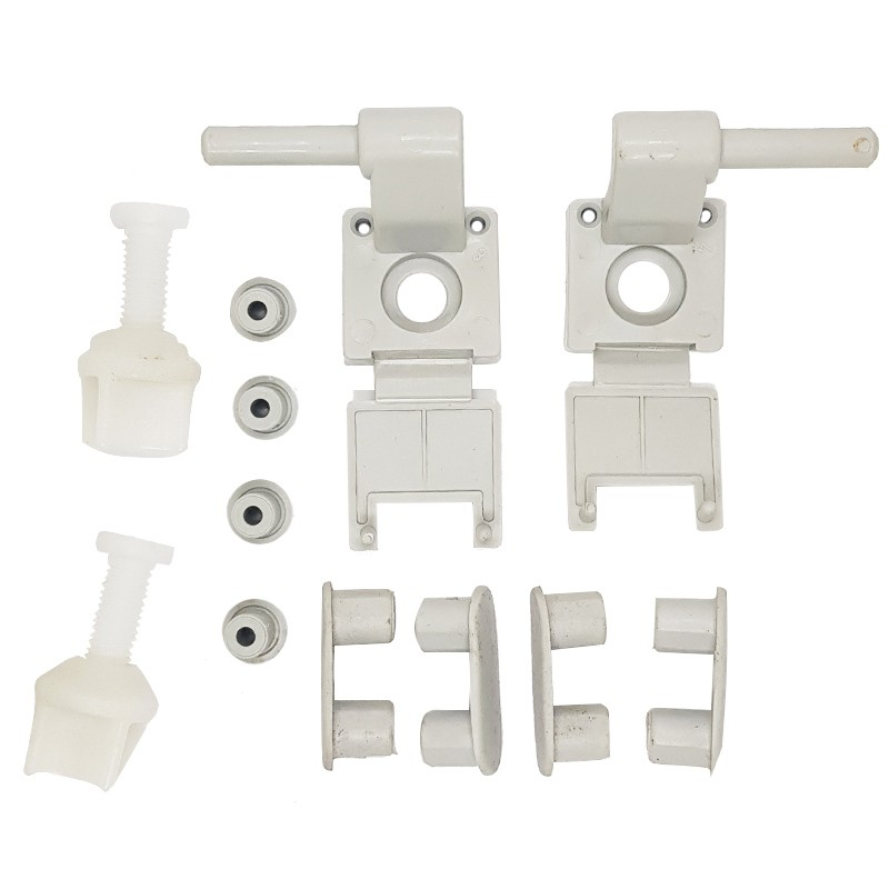Fixação para Assentos Sanitários Deca Em Plastico Cinza Real - 1100FX0187