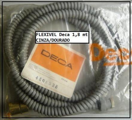 Flexível 1,8 M Cinza Com Dourado Deca - 4606328