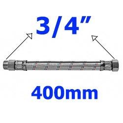 Flexível 3/4 MxF Malha de Aço Inox 400mm - 250104