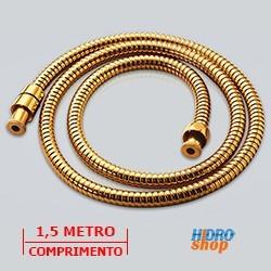 FLEXÍVEL AÇO INOX GOLD 1,5M 1/2