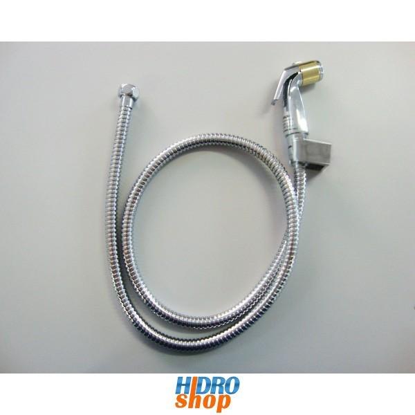 Flexível Cromado Deca 1,2mts Com Ducha E Suporte Det. Dourado - 4260000DOK