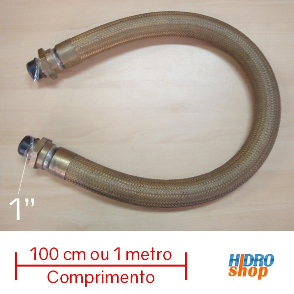 Flexível De Gás Haenke 100cm X 1