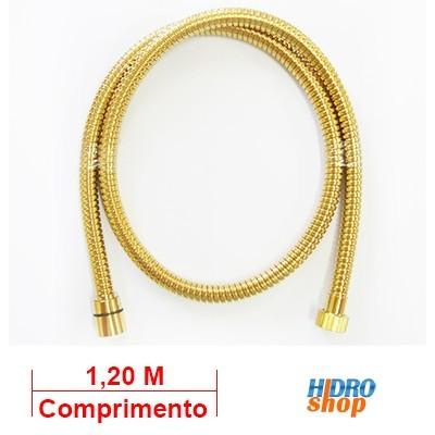 Flexível ducha higiênica deca gold 1,20 mts 4260000gl