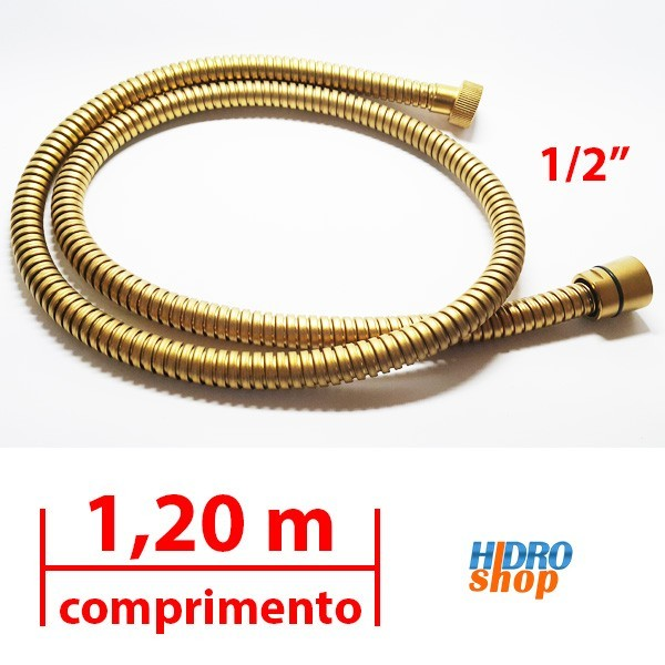 Flexível Deca Gold Matte 1,20 M 1/2