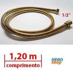FLEXÍVEL DECA RED GOLD 1,20 MTS 1/2