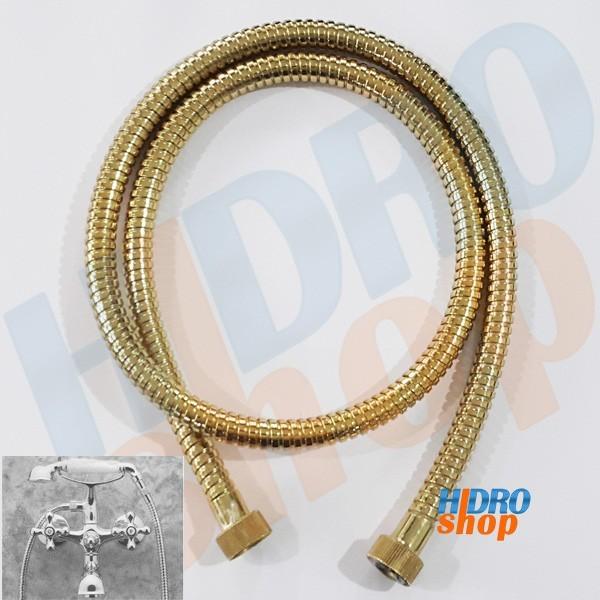 Flexível Dourado para Misturador Banheira Deca 1430d 1,20m - 42601430