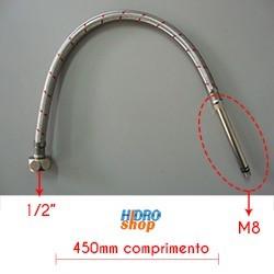 FLEXIVEL MONOCOMANDO LORENZETTI M8 450MM 1/2