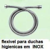 FLEXÍVEL PARA DUCHA MANUAL 1,2mts EM INOX