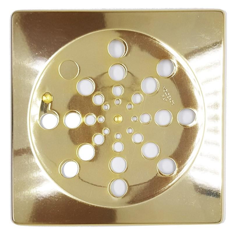 Grelha Quadrada Dourada 15x15 Sem Caixilho - 419DC