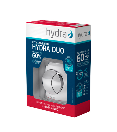 Kit Conversor Duplo Acionamento Hydra Max Para Hydra Duo Baixa Pressão - 4916C112DUO