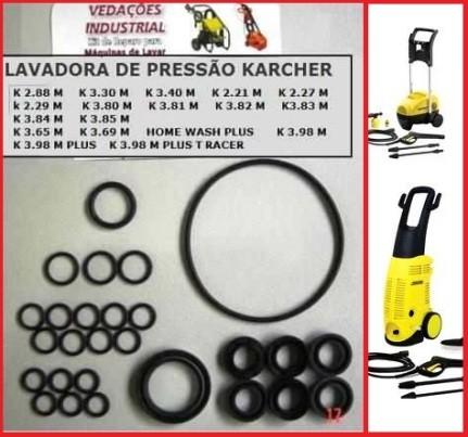 Kit Reparo Lavadora Kartcher Modelo Residenciais - 17782118