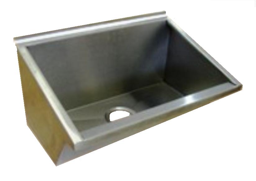 Lavatório Coletivo Em Aço Inox 1,80 Mts - Grátis Válvula Escoamento e Sifão Extensível - LAV1800