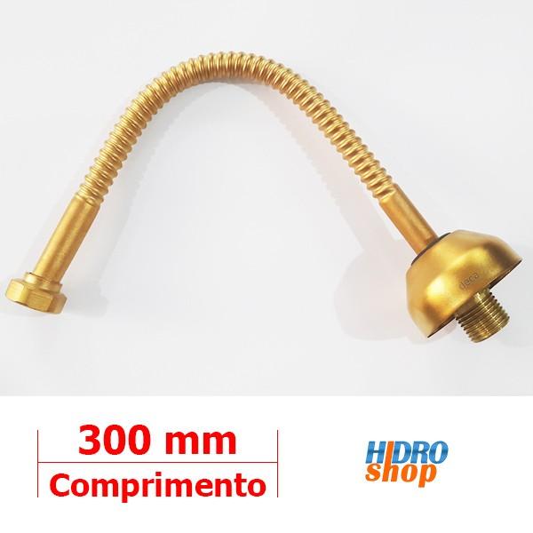 Ligação Flexível 30cm Gold Matte Deca - 4606GL030MT