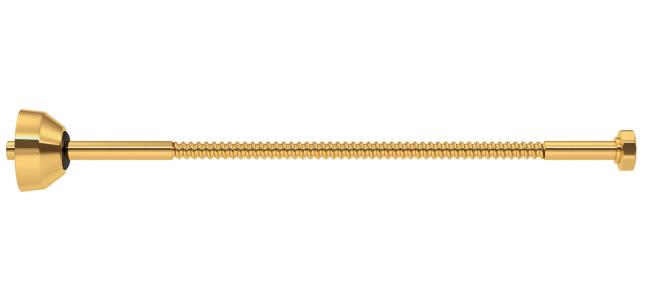 Ligação Flexível 40 Cm Dourado Gold Deca - 4606.Gl.040