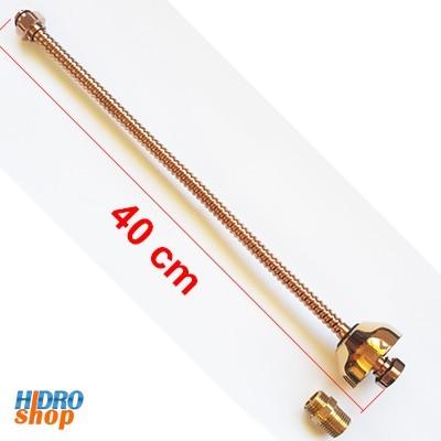 Ligação flexivel 40 cm red gold deca 4606.gl.040.rd