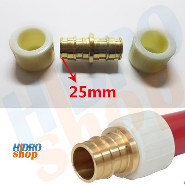 Luva para Pex-b Latão 25mm x 25mm - GX102Y005