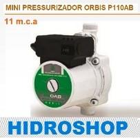 MINI PRESSURIZADOR ORBIS 11 MCA P11OAB2 220V