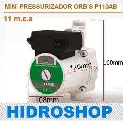 Mini Pressurizador Orbis 11 Mca P11oab 110v - P11OAB1