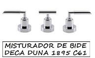 MISTURADOR PARA BIDE DECA DUNA 1895.C61 DECA CROMADO