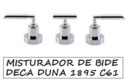 Misturador Bidê Deca Duna Cromado - 1895C61