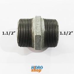 Niple Metal Galvanizado 1.1/2