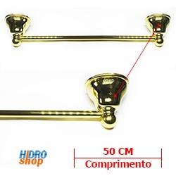 Porta Toalha Barra Deca Belle Epoque Dourado - 2040D