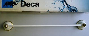 Porta Toalha Belle Epoque Branco Deca - 2040E52BRDO