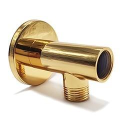 Posicionador Gold para Ducha Higiênica x Tubo Pex no Chão - D3014GL