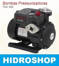 Pressurizador Bomba Tqc 200 Fluxostato - TQC200