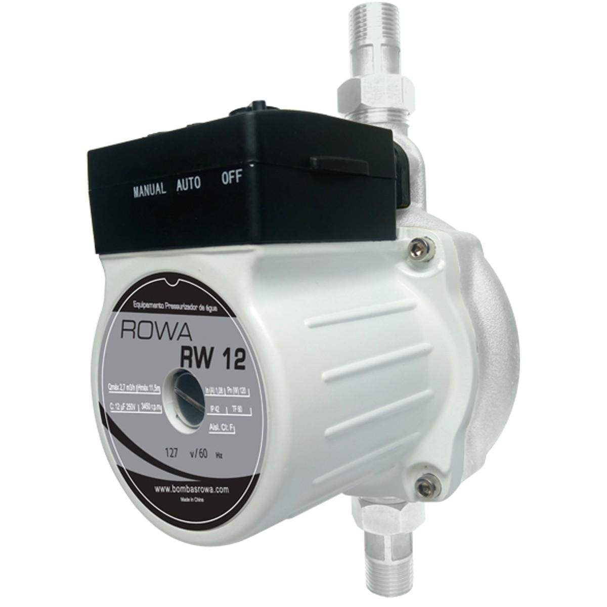 Pressurizador Rowa Mini 12 M.C.A. 220v - RW12220V