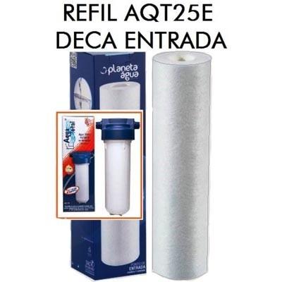 Refil para filtro aqualar aqt25 e deca de entrada 1330