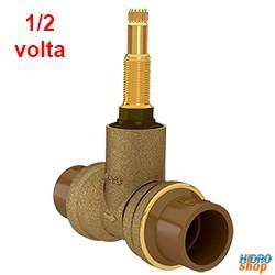 REGISTRO PRESSÃO DECA 1/2 VOLTA PVC 25 MM